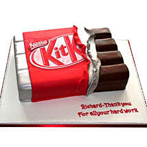 Kit Kat Shaped Cake: Designer Cakes Lucknow