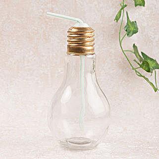 Large Sipper Bulb White: Gifts Bhai Dooj for Kids