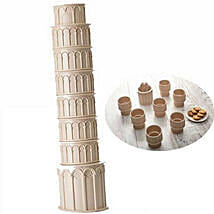 Leaning Tower Folding Cups: Funny Gifts