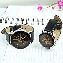 Leather Watch Set: Mens Watches