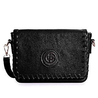 Lino Perros Sling Bag Black: Sling Bags