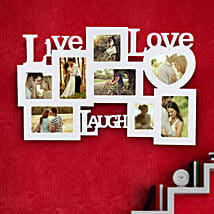Live Laugh Love Frame Valentine: Wedding Photo Frames