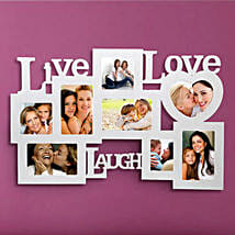 Live Love Laugh: Wedding Special Photo Frames