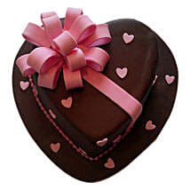Love Flower Cake: Send Heart Shaped Cakes to Patna