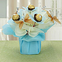 Love For Rochers: Chocolate Bouquets for anniversary