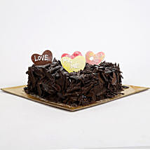 Love in abundunce Valentine cake: Heart Shaped Cakes Lucknow