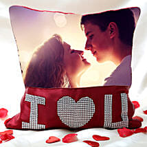 Love Special Personalized Cushion: Gifts Delivery In Goregaon