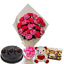 Love Treasure: Flowers & Teddy Bears for Propose Day
