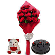 Love Treat for you: Send Flowers & Teddy Bears for Propose Day