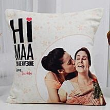 Love You Mom Cushion: Ahmedabad Mother's Day gifts