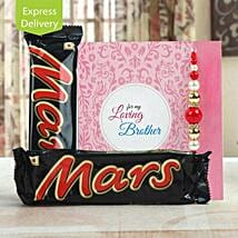 Love you to Mars and back: Rakhi With Sweets to Ahmedabad