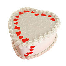 Lovely Heart Shape Cake: Send Romantic Chocolate Cakes