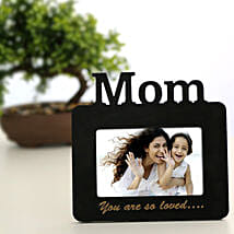 Lovely Mom Personalized Frame: Send Personalised Photo Frames to Kolkata