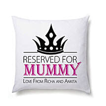 Lovely Personalized Cushion For Mom: Personalised Cushions Lucknow