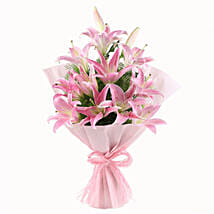 Luxurious Lillies: Flowers to Aligarh