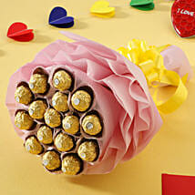 Luxury Ferrero Rocher: Chocolate Bouquet Hyderabad