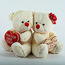 Made For Each Other Teddy Combo: Send Soft Toys