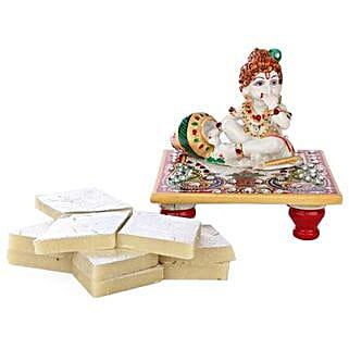 Marble Bal Krishna Combo: Handicrafts to Chennai