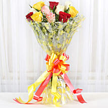 Marvellous Bouquet Of Roses: Mixed Roses