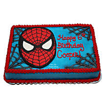 Mask of Spiderman Cake: