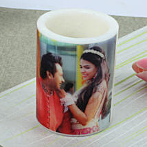 Me and You Personalized Candle: Send Personalised Gifts to Sirsa