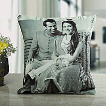Memories Forever Personalized Cushion: Personalised Gifts Wardha
