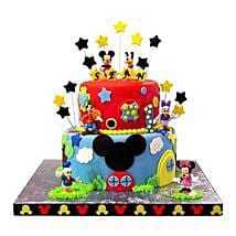 Mickey Mouse Clubhouse Cake: Designer Cakes to Lucknow