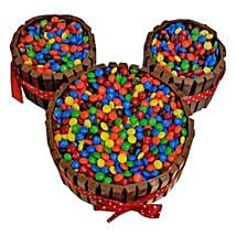 Mickey Mouse Kit Kat Cake: Mickey Mouse-cakes
