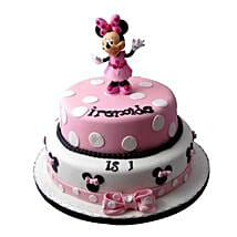 Minnie Mouse Birthday Cake: Cartoon Cakes