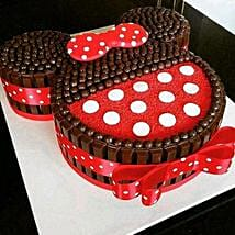 Minnie Mouse Kit Kat Cake: Cakes to Ponnani