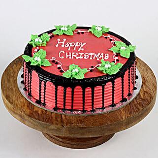 Mistletoe Christmas Cake: Christmas Cake