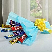 Mixed Chocolates Bouquet: Gifts for Childrens Day