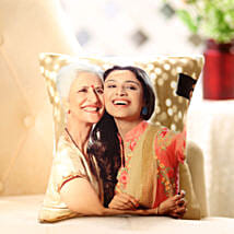Mom n Me Personalized Cushion: Send Gifts to Gandhinagar