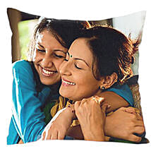 Mom n Me Personalized Cushion: Send Birthday Gifts to Faizabad