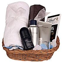 Most Wanted Mens Hamper: Cosmetics & Spa Hampers for Anniversary