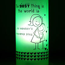 Mothers Hug Bottle Lamp: Gifts to Udhampur