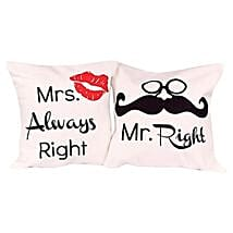 Mr and Mrs Cushions: Send Gifts to Udhampur