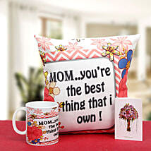 Munificent Mommy: Send Gifts to Kolhapur