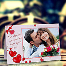 My Love Personalized Card: Send Personalised Gifts to Wardha