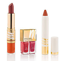MyGlamm Lipstick Combo: Cosmetics & Spa Hampers for Valentine
