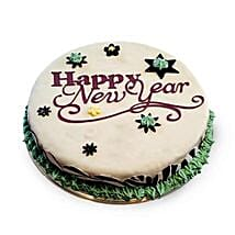 New Year Fondant Cake: New Year Gifts for Wife