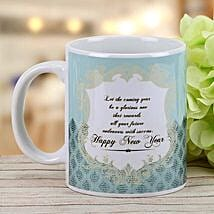 New Year Wishes Mug: New Year Gifts for Family