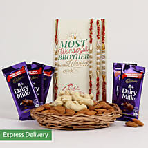 Nutty Rakhi Joy: