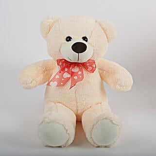 Off White Teddy Bear: Kids Toys & Games