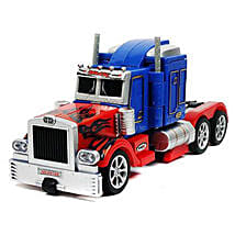 Optimus One Button Transforming Car: Cars for Kids