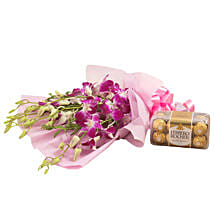 Orchids N Chocolates: Flowers & Chocolates to Bengaluru