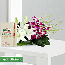 Orchids Rakhi Surprise: Rakhi Gifts to Bhopal