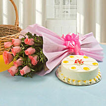 Palatable Love: Flowers N Cakes - birthday