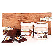 Pampering With Chocolate Spa Hamper: Gift Hampers Hyderabad