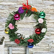 Paper Flower Christmas Wreath: Christmas Gifts? Delhi